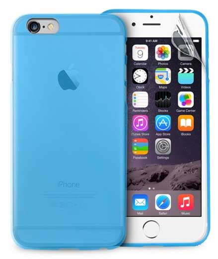 Ultrathin Tempered Glass And Antishock Iphone 55sse ultra slim 0 3 quot blue iphone 6 6s plus puro