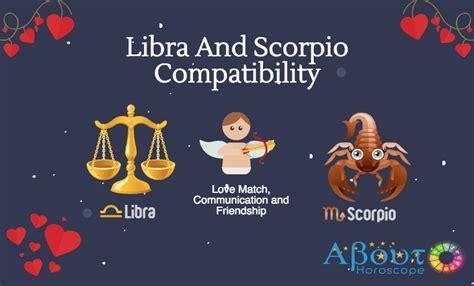 libra and scorpio compatibility love friendship