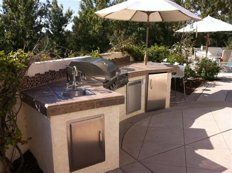 bbq outdoor kitchen islands outdoor kitchens bbq islands eclectic landscape san diego by york landscape designer
