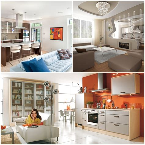 10 Amazing Ideas To Design Kitchen Combined With Living Room | 10 amazing ideas to design kitchen combined with living