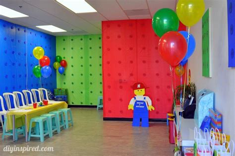 lego themed birthday decorations lego birthday diy inspired