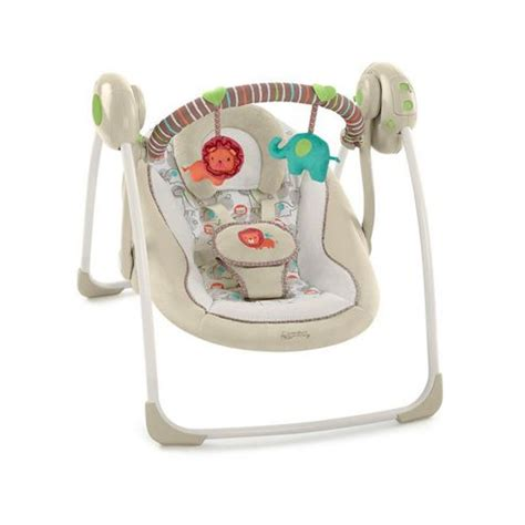 bright starts biscotti baby portable swing buy bright starts comfort harmony cozy kingdom portable