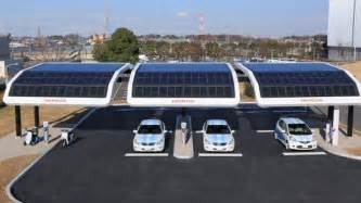Electric Vehicle Charging Stations Solar Power For Electric Vehicles Clean Fuel Connection News