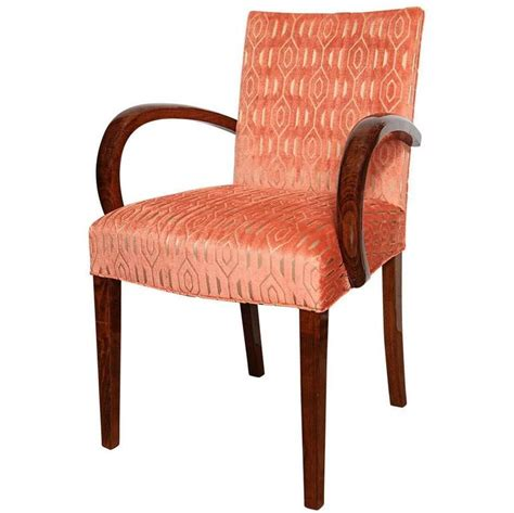 elegant armchair elegant art deco bridge armchair at 1stdibs