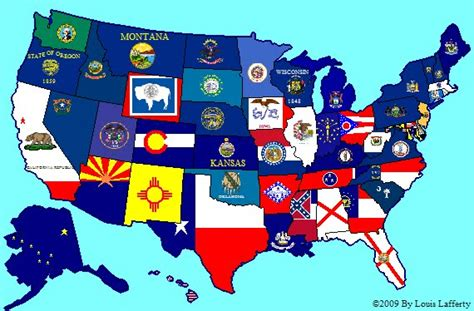 america map flags subdivisional flag maps