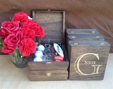 groomsmen gift personalized cigar boxes personalized gift groomsmen gift keepsake box set of 6 rustic laser