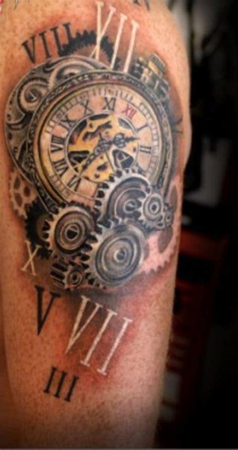 roman numeral 4 tattoo numerals search clock compass