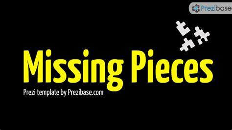 missing pieces prezi template prezibase
