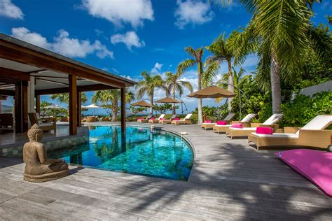 4 Bedroom House picture gallery villa la plage st barths online
