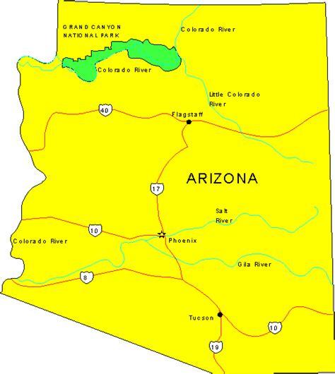 of arizona map arizona maps map of arizona
