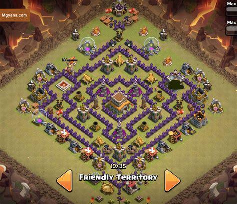 layout coc war th8 top 3 th8 4 mortar war base designs coc