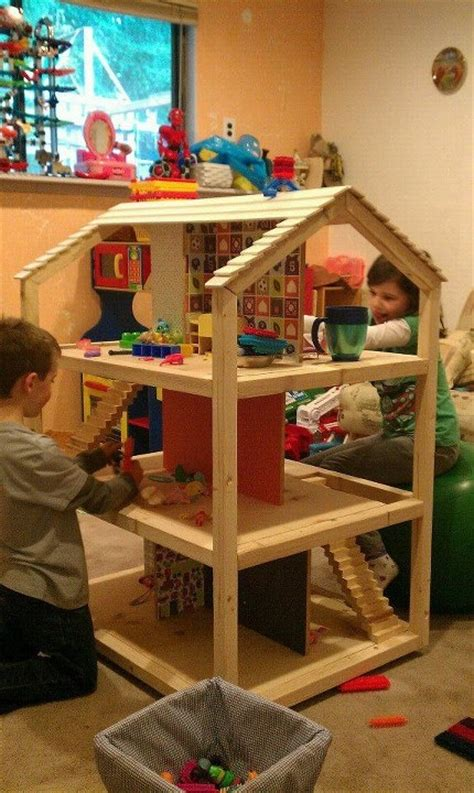 build dolls house american girl doll house plans free woodworking projects plans