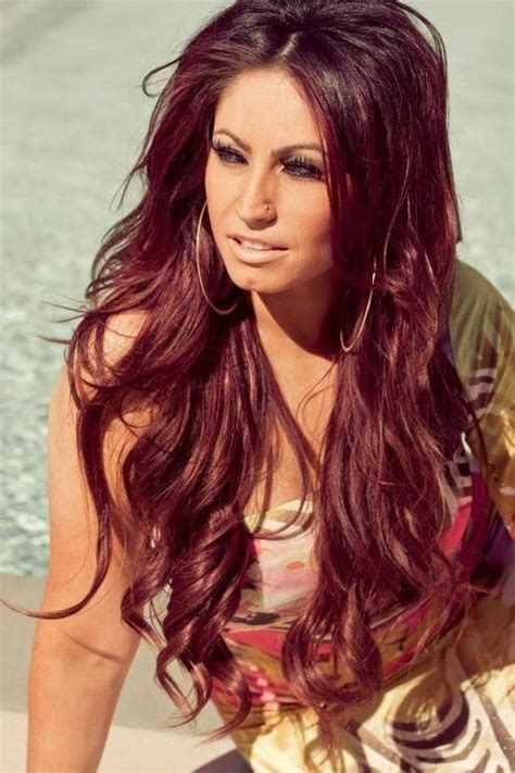 brown and burgundy hair color ideas 2017 for
