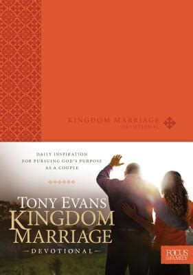 Evans Gift Card Balance - kingdom marriage devotional by tony evans hardcover booksamillion com books
