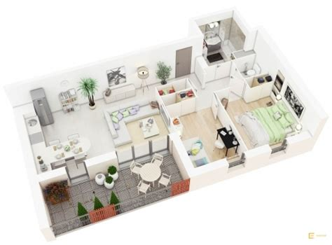 diy 3d home design stylish 20 more 2 bedroom 3d floor plans home decoratings