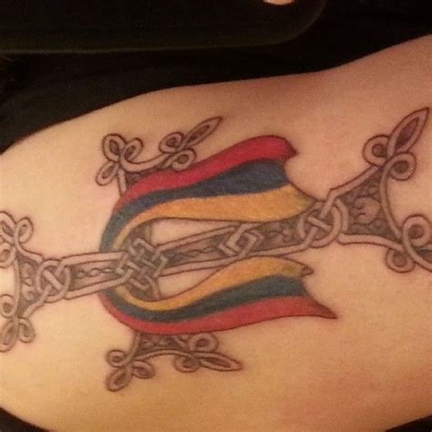 armenian tattoo designs armenian cross and flag tattoos