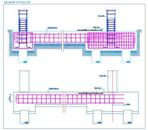 design criteria for beams pile caps detallesconstructivos net tech pinterest
