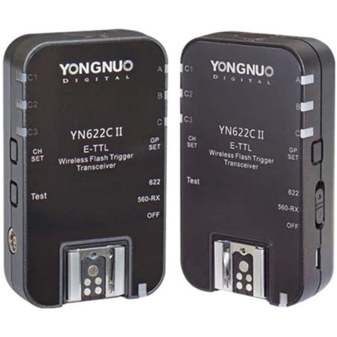 Yongnuo Yn 622c yongnuo yn 622c ii e ttl wireless flash transceiver yn 622c ii