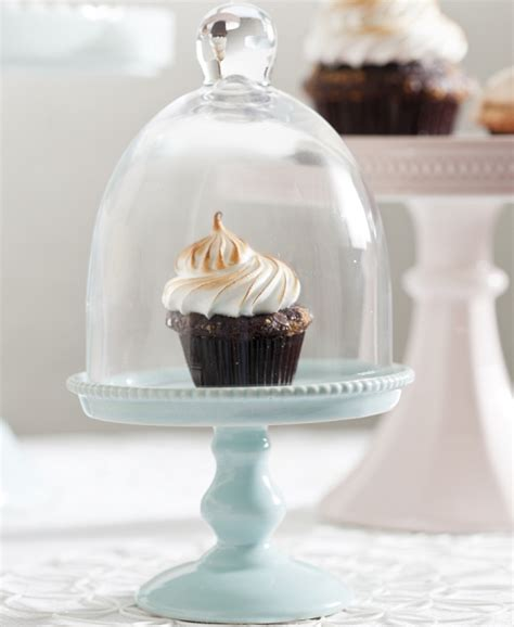 Cake Stand With Dome Small pedestal cake stand dome small