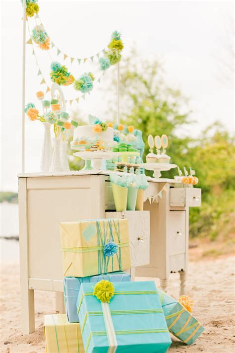 blue yellow gender neutral baby shower ideas baby showers 100 layer cakelet