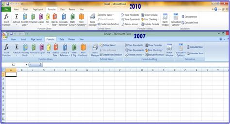 fungsi layout dan reset fungsi menu page layout pada microsoft excel 2007 tab