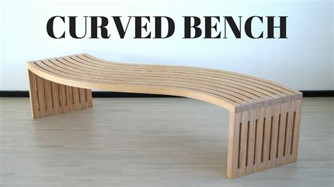 how to make a curved bench curved bench doovi