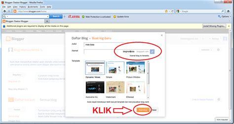 cara mudah membuat blog gratis blogspot cara mudah membuat blogger blog gratis di blogspot