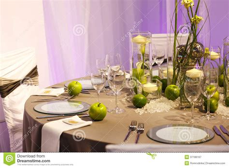 beautiful table settings green and brown elegant table set in green and white for wedding or event