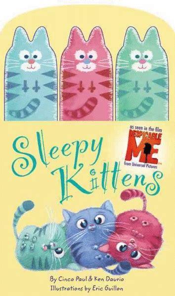 libreria le gru sleepy kittens despicable me el p 233 ndulo