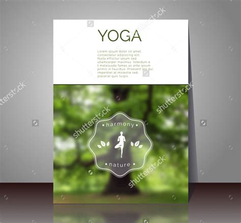 flyer template yoga 29 yoga flyer templates free premium download