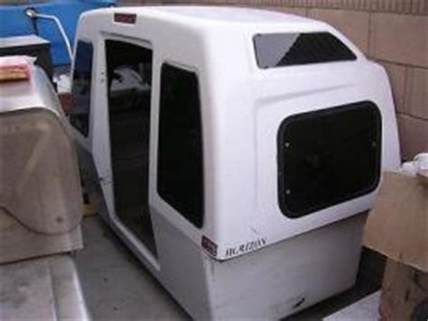transport a camper shell sleeper, extended cab to santa fe