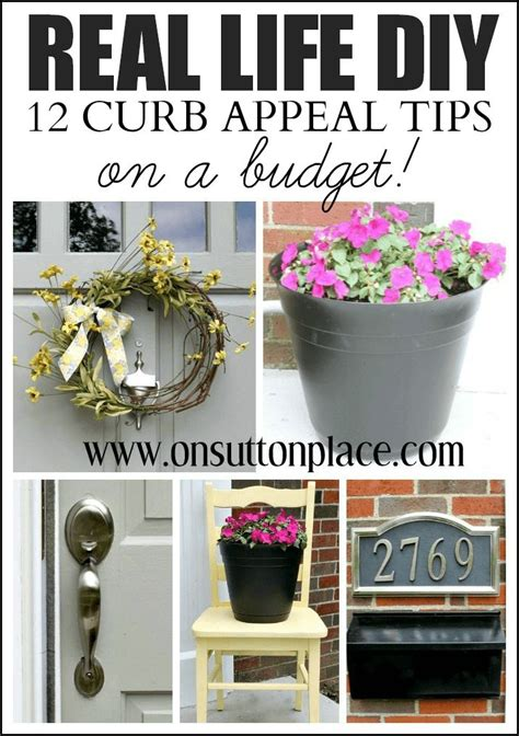 curb appeal tips 12 diy curb appeal tips on a budget