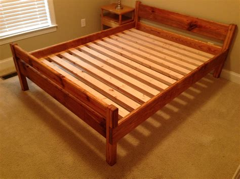 how to build a queen size bed frame interior design 16 gorgeous diy bed frames the budget