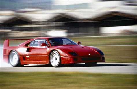 F40 Driving Experience S Iconic F40 Supercar Just Turned 30 Years