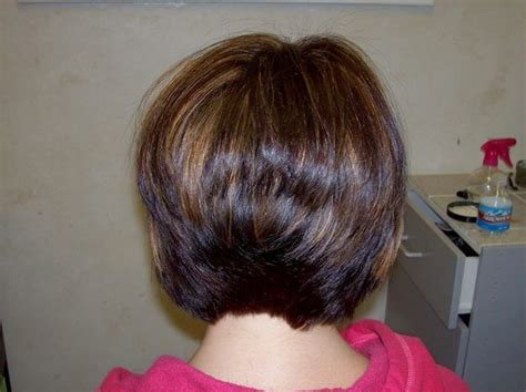 stacked back front view stacked bob hairstyles back view