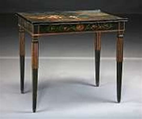 antique l tables sale l 18th c continental neoclassical painted tea table for