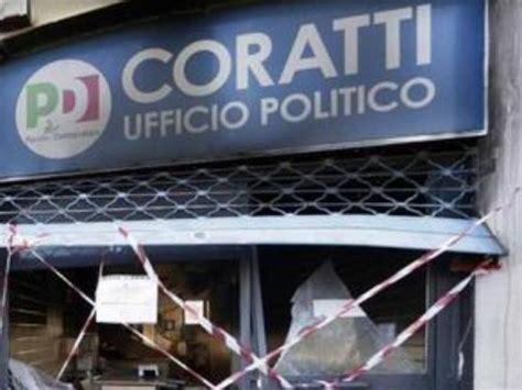 sede pd roma indirizzo roma attentato incendiario in una sede pd l