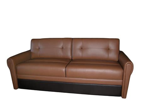 jackknife couch for rv villa jackknife sofa glastop inc