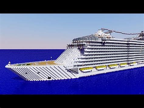minecraft oasis of the seas / cruise ship [defroi's ship