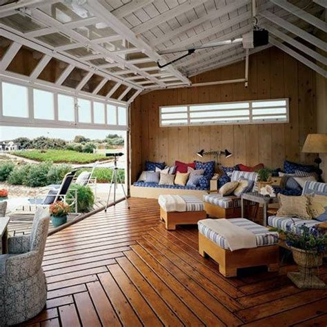 Roll Up Patio Doors 26 Glass Garage Door Ideas To Rock In Your Interiors Digsdigs