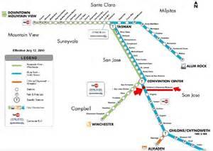 San Jose Vta Map by Vta Rail Related Keywords Amp Suggestions Vta Rail Long
