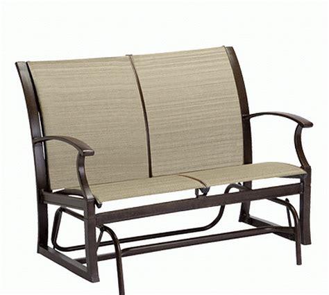 aluminium sling booth sheridan aluminum sling loveseat 9p0419