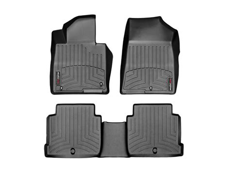 weathertech floor mats floorliner for kia optima 2016 2017 black ebay