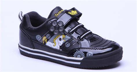 Sepatu Anak Fladeo Hitam No 27 gambar sepatu sekolah anak perempuan