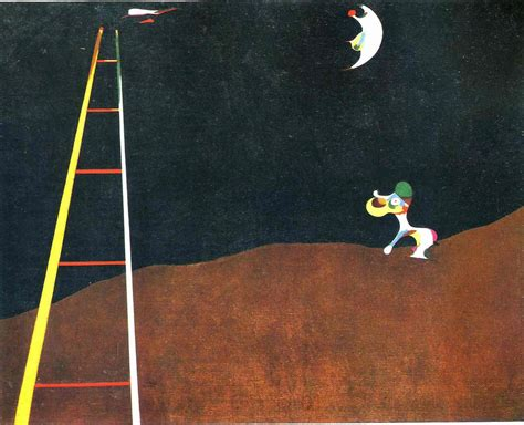 barking at the moon barking at the moon joan miro wallpaper image