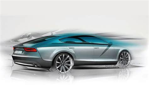 audi  sportback design sketch car body design