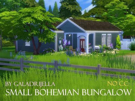 bohemian bungalow small bohemian bungalow by galadrijella at tsr 187 sims 4