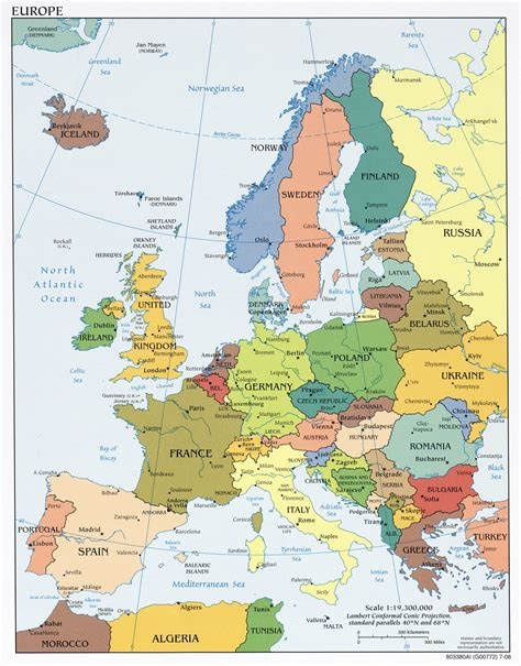 map europe maps of europe and european countries political maps