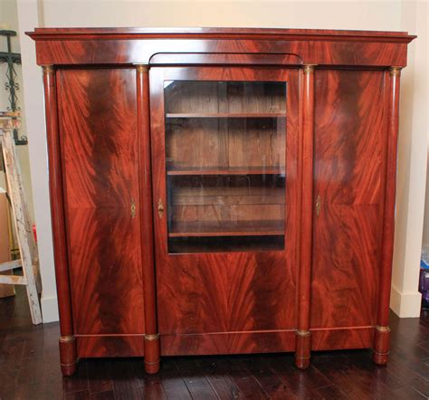 mahogany armoire french empire style mahogany armoire for sale at 1stdibs