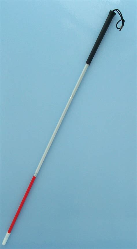 Blind Stick deaf blind white stick walking sticks uk